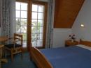 Franciaágyas szoba balkonnal